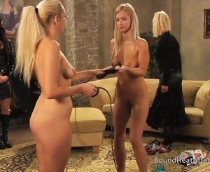 Enslaved Girls Whipping Each Other