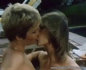 Lesbian Sex in the Pool