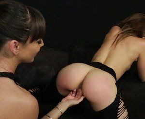 Remy Lacroix taking a strapon hard